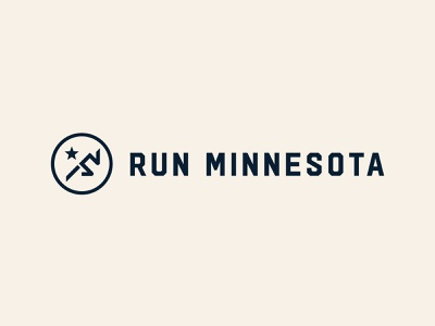 Run Minnesota heritage minneapolis sprint marathon identity brand design branding runner running hudson mn minnesota run