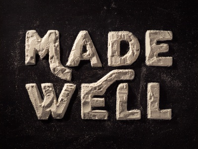 Made Well typography handmade type river valley church sermon series healing well made
