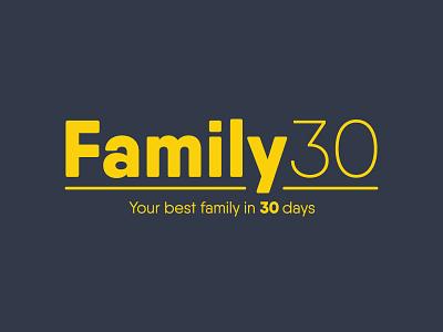 Family30  identity brand sermon series sermon church family