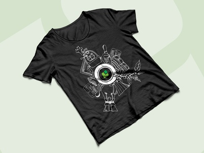 Throwback: Our first Cropster T-shirt ever