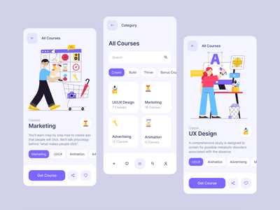 Plomf! Illustration Constructor category flow ui kit buttons tab bar tool bar tabs product page preview catalog uiux apps landing branding figma sketch constructor illustration