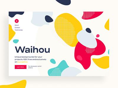Paaatterns! Waihou patterns pattern web design branding vector sketch figma freebies freebie free