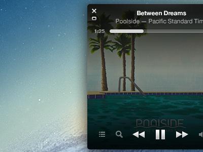 iTunes MiniPlayer Rebound itunes mac app mini player ui music audio apple