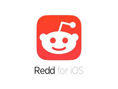 Redd for iOS reddit ios ios 7 app icon flat red orange simple clean minimal