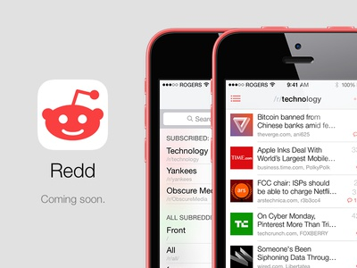 Redd for iPhone