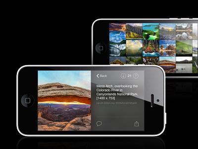 Galleries ios app mobile reddit gallery