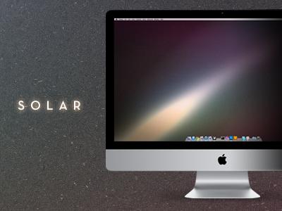 Solar wallpaper free mac imac apple neutra