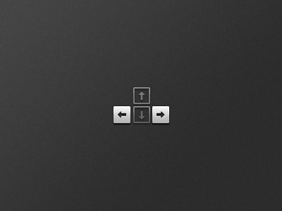 Keyboard Navigation keyboard icon small chicklet ux scroll left right