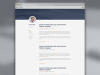 Adam Wren Blog Index