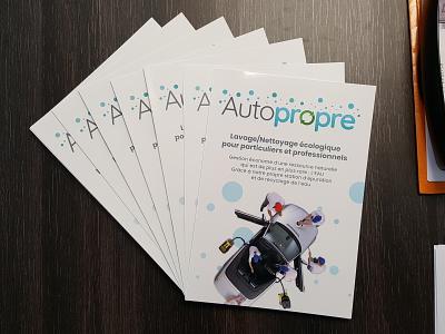 A4 Glossy Brochure brand identity branding brochure design design