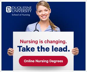 Duquesne Online Nursing Banners banner university school marketing du banner ad education