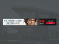 Maryville University Online Banner paid search ppc google ad education online university brand banner