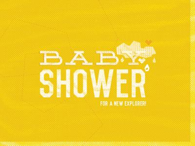 Baby Shower Invite, pt. III