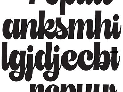 Scripts on Scripts script lettering script typography lettering