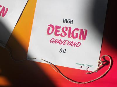 Design Graveyard, pt 4 day of the dead dia de los muertos brush lettering type design type