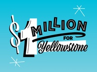 $1 Million for Yellowstone