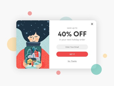 Day 016: Pop-Up / Overlay design web ui ux dailyui