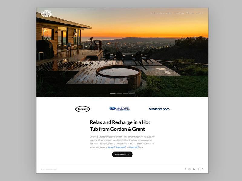 Gordon & Grant graphic design graphicdesign html web design branding brand identity ui uidesign website webdesign design