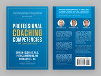 """Professional Coaching Competencies"" book cover design"