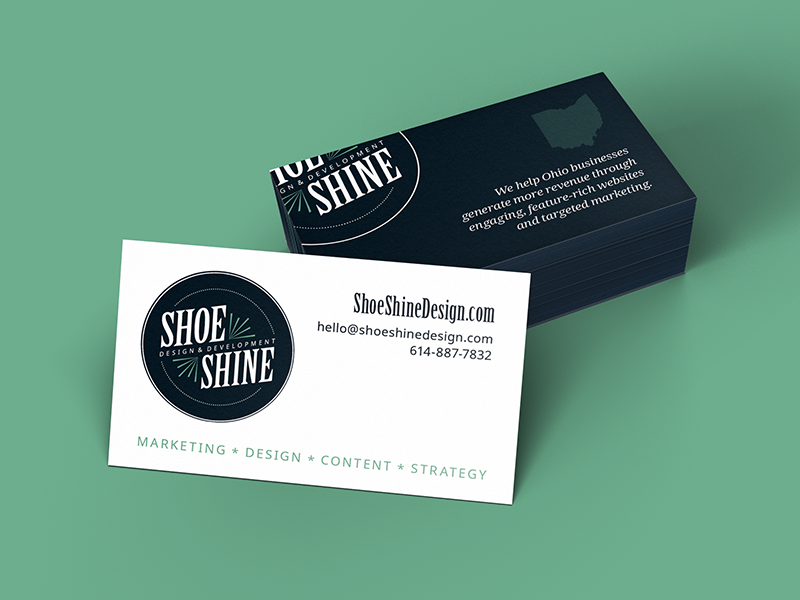 Shoe Shine Business Cards by Shoe Shine Design - Dribbble