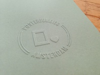Posterjunkies Embossing Stamp