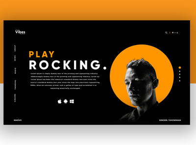 Play Rocking UI/UX