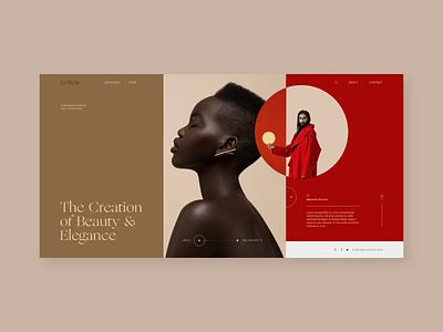UI Practice website typography web ui ux design