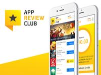 App Review Club - Brand, UX, UI
