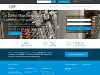 Linx.net Website UX & UI