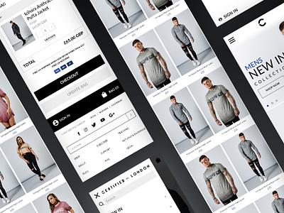 Certified London - Shopify Ecommerce website products shopify ecommerce design website mobile ecommerce