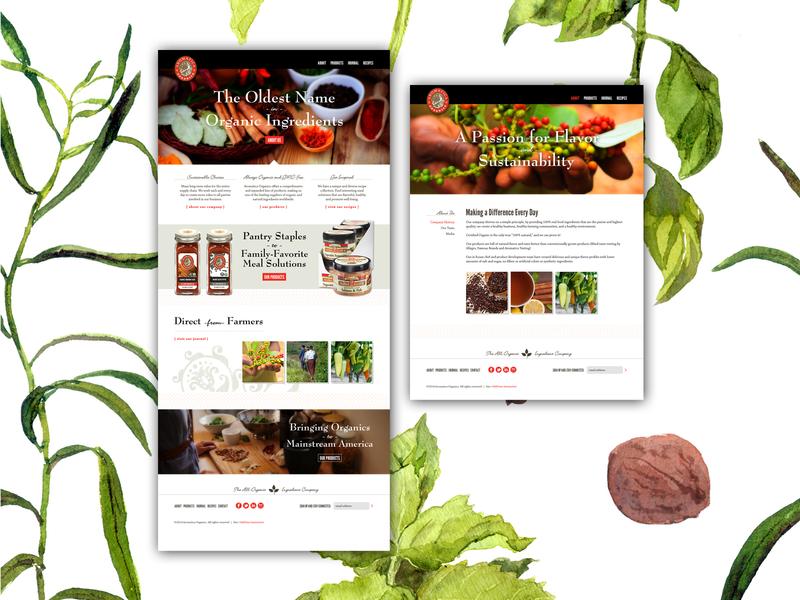 Aromatica Website Concepts design identity design uxdesign ui design web design ux ui