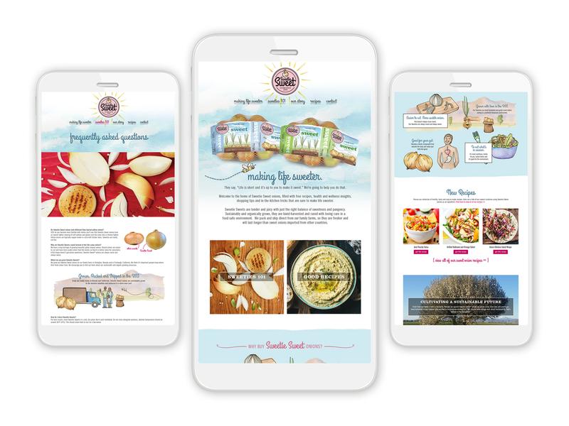 Sweetie Sweet Website Design and Code website design website web development web design uxdesign ux ui design ui design