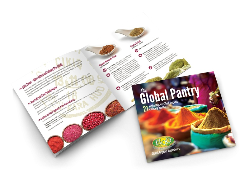 HQO Foodservice Brochure collateral print design design company advertising marketing collateral branding design