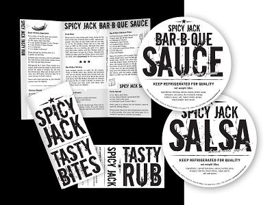 Spicy Jack logo design design company marketing collateral illustration logo branding design