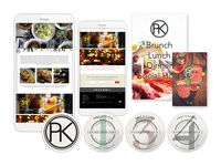 Prep Kitchen Website Concept and Collateral