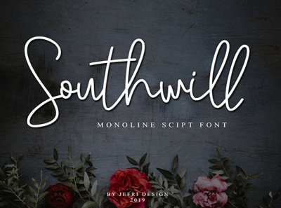 Southwill Scrip Font