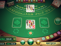 Bbtech Blackjack UI Design