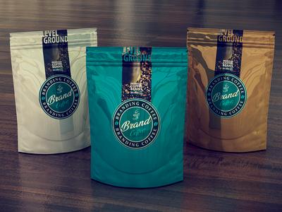 3D Branding & Designs (Coffee bag)
