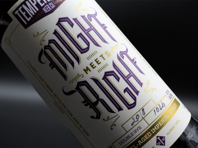 Might Meets Right - Temperance Beer Co. Imperial Stout