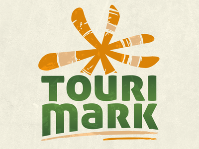 TouriMark Logodesign logos logodesign illustration corporate tourism