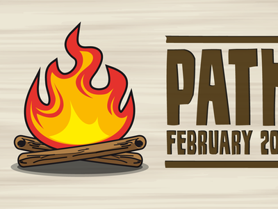pathcamp Logodesign pathcamp logos logodesign illustration fire campfire