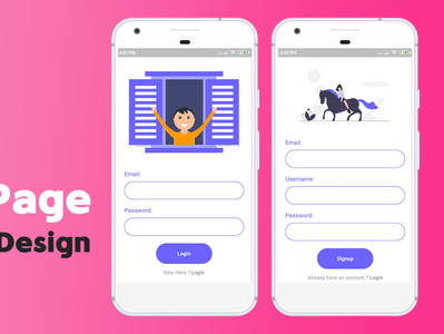 Creating a login page using flutter coding login page mobile apps flutter uidesign
