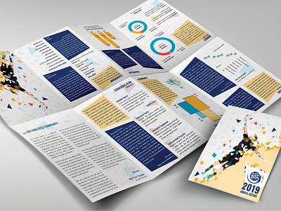 Bay Area Disc Association Annual Report brochure design print design typography layout vector diagramming diagrams branding illustration design