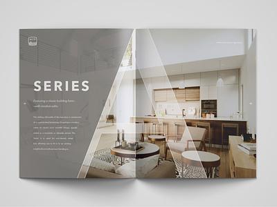 Acre Designs Product Brochure information design architecture visualization layout diagrams product branding brochure design print design typography branding diagramming design
