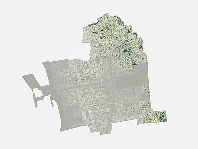Backyard Building Envelopes data data visualization mapping information design diagrams diagramming illustration design