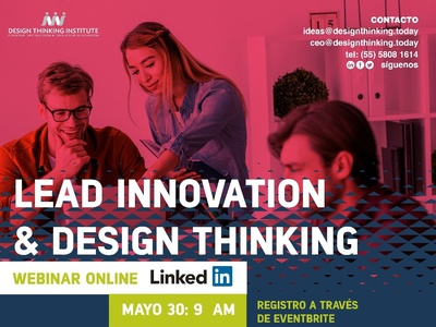 Webinar Lead Innovation & Design Thinking