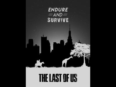 Minimal Last of Us Poster