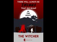 Minimal Witcher Poster