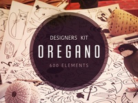Oregano - Vector Elements Kit