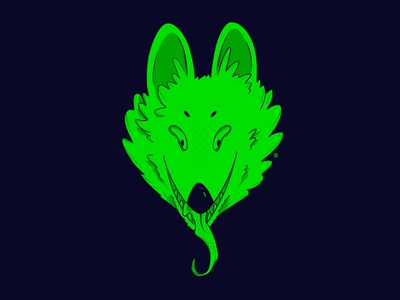 Huevember 25/30 wolf procreate ipadpro huevember drawing illustration